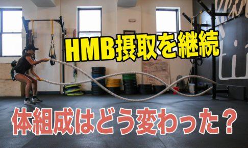 HMB変化