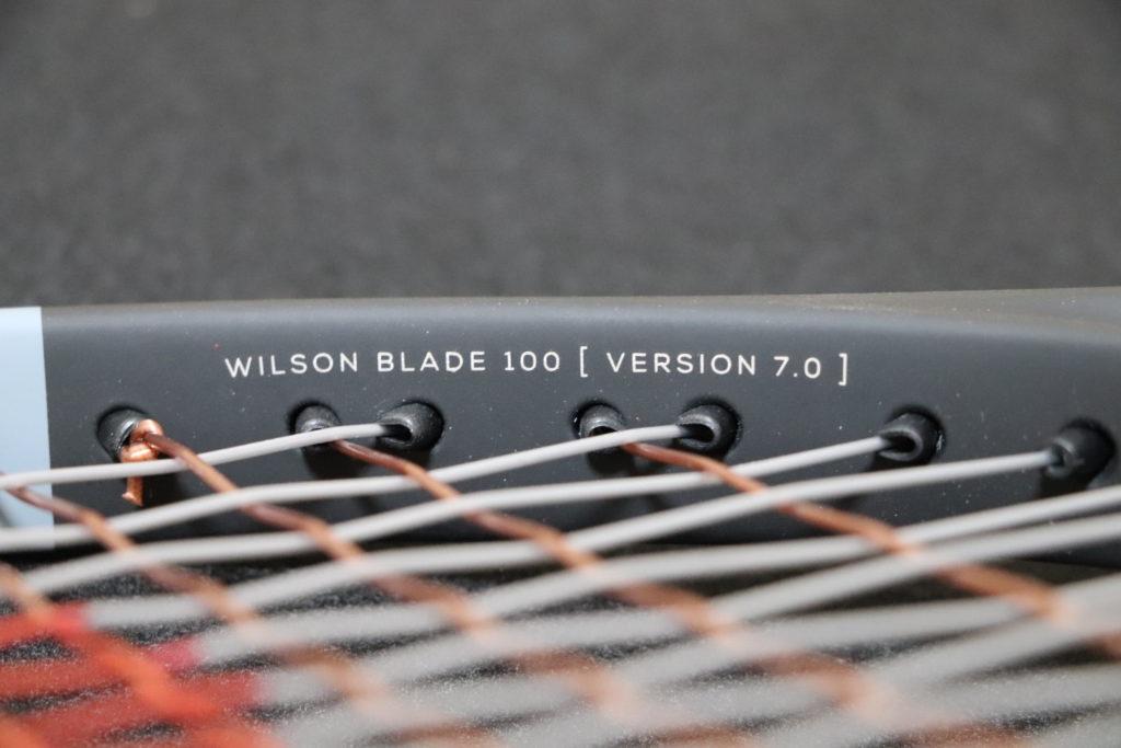wilson blade100 インプレ