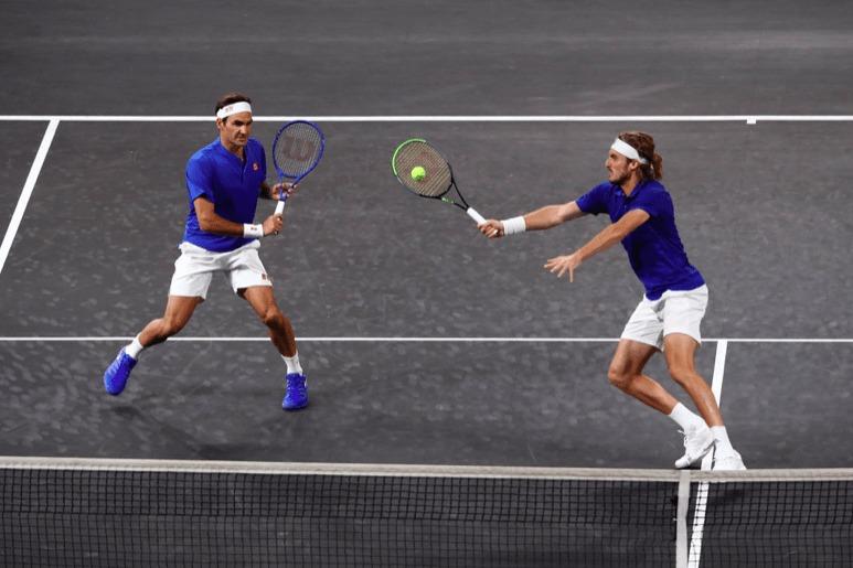 テニス ダブルス ファーストボレー